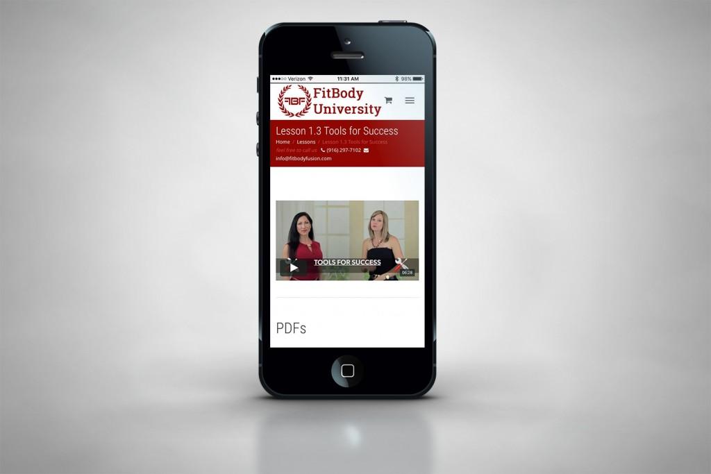 iphone mock up web